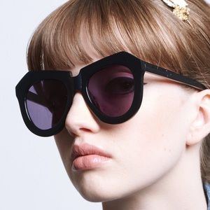 Karen Walker One Worship Sunglasses- Black